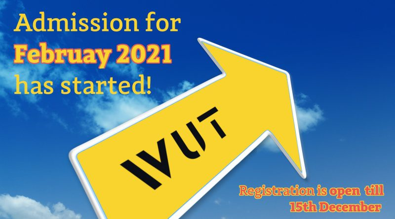 Admission for February 2021