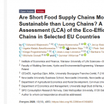 Are Short Food Supply Chains More