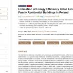 Estimation of Energy Efficiency Class Limits