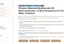 Filtration Materials Modified with 2D Nanocomposites—A New Perspective for Point-of-Use Water Treatment